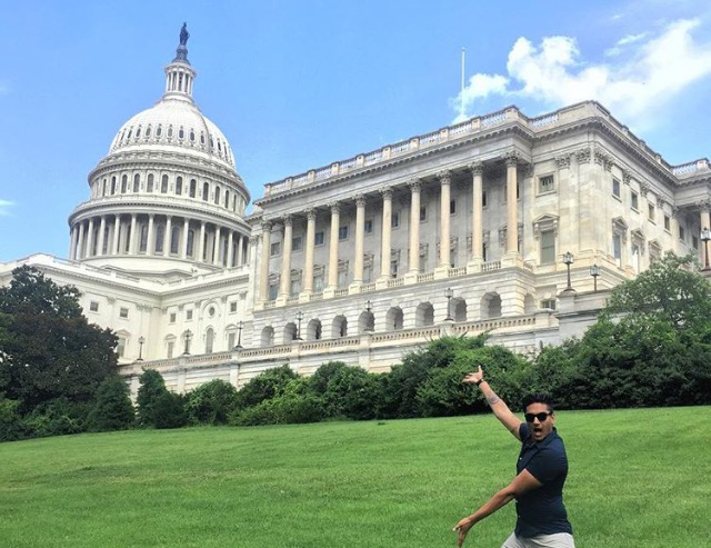 The cure for homesickness in D.C.? Invite a friend