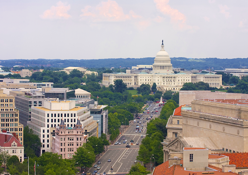 An intern's departing view of D.C. as she heads home to Canada