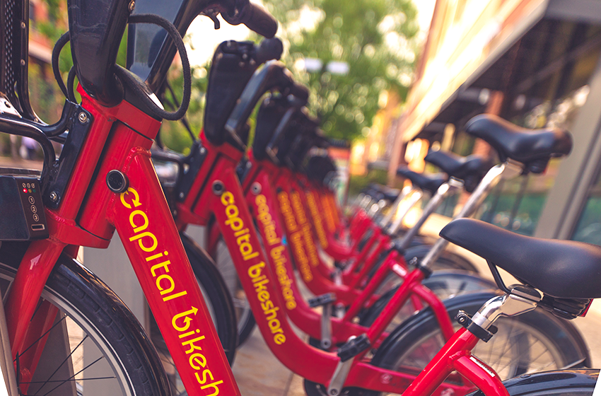 Capitol Bikeshare for Interns
