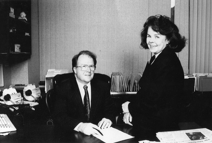 Bill and Sheila Burke, Co-Founders, The Washington Center