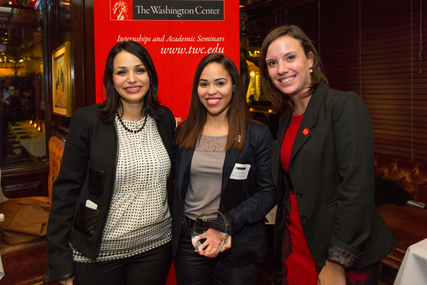 Grace Rivera '09 Recognized as Outstanding Fall Internship Supervisor