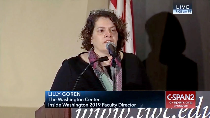 Dr. Lilly Goren of Carroll University