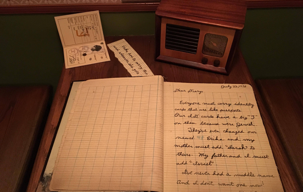 Diary at the Holocaust Museum