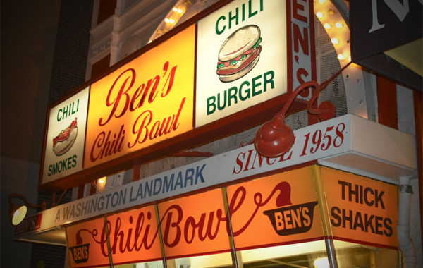 Ben's Chili Bowl in D.C.