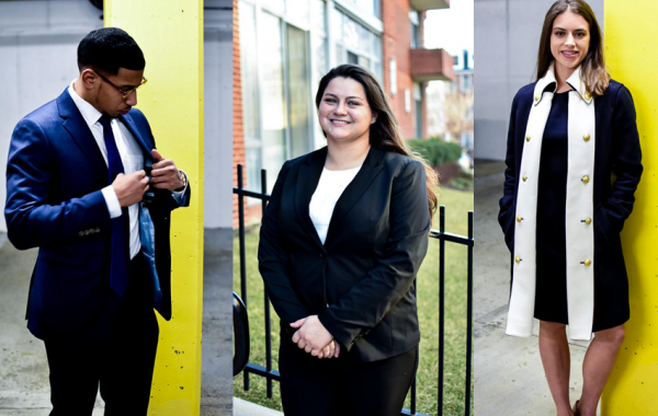 D.C. interns showing off their fashion sense