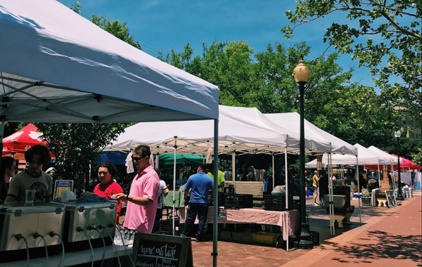 Farmer's Market in DC