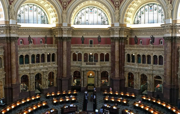 Civic Digital Fellows visit Library of Congress