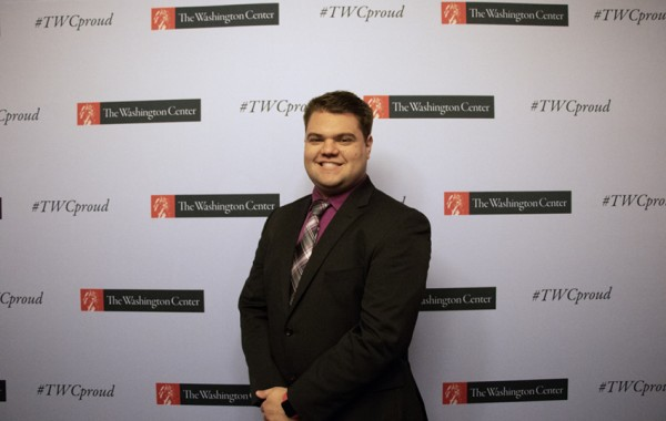 Evan Kinney attends TWC's National Security seminar
