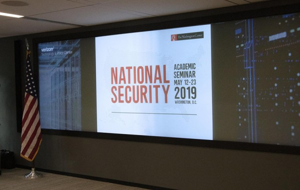 The Washington Center National Security Seminar 2019
