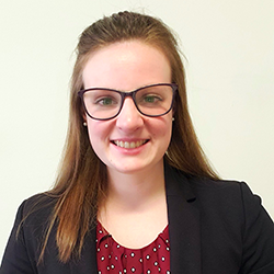 Courtney Hile, intern at the U.S. Marshals Service