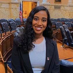 Fathima Rifkey, intern at The Council on American Islamic Relations (CAIR)