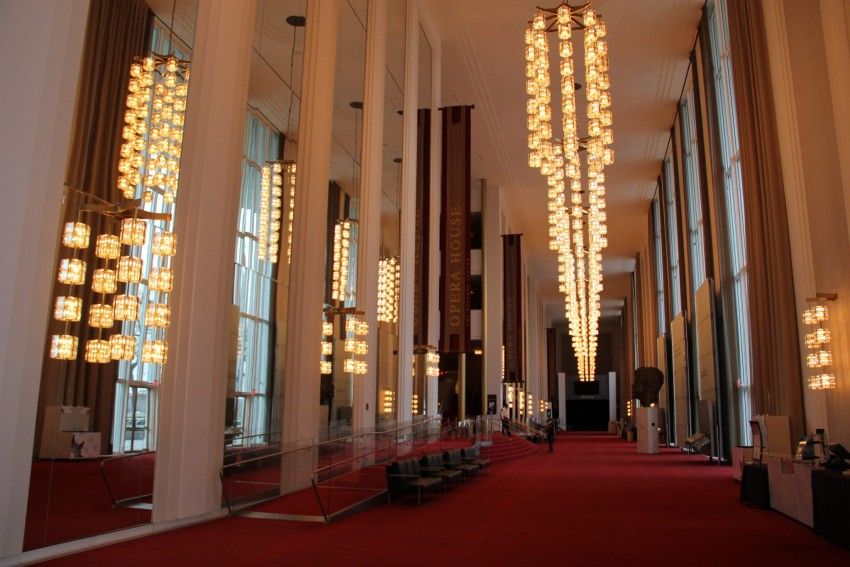 The Kennedy Center for the Performing Arts is a D.C. staple