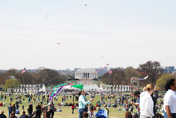 The Kite Festival is a can't miss event if you're in D.C. in the spring