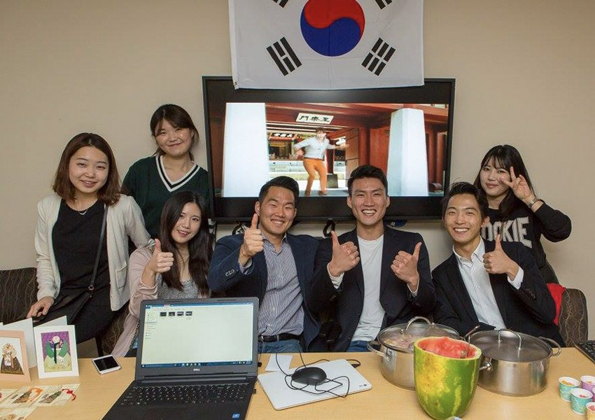 South Korean students.