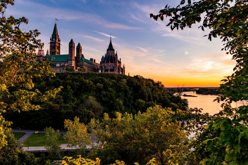 A view of Ottawa's Parliament
