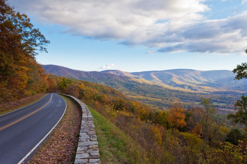 Shenandoah National Park in Virginia offers stunning views and great hiking