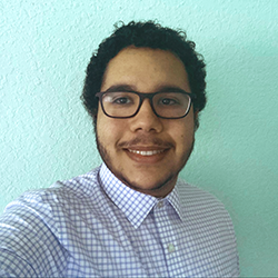 Steven Lopez, intern at the Peace Corps