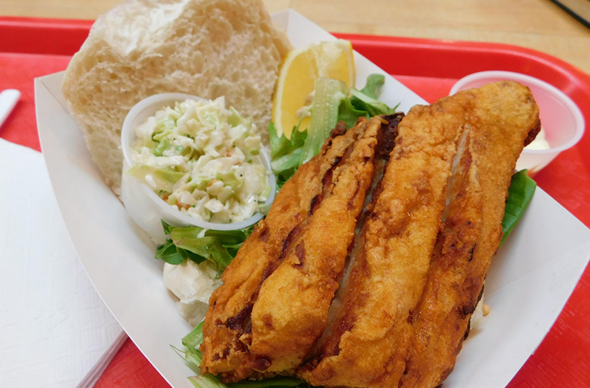 Lunch at Eastern Market
