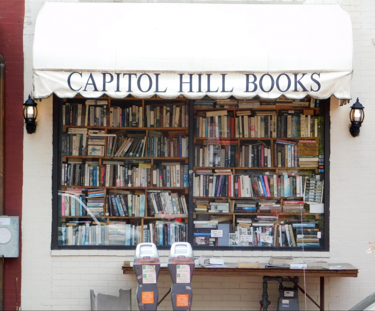Bookshop near Eastern Market