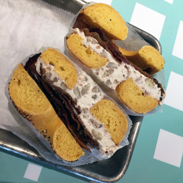 "The ""Rude Socialist"" sandwich from Eastern Market."
