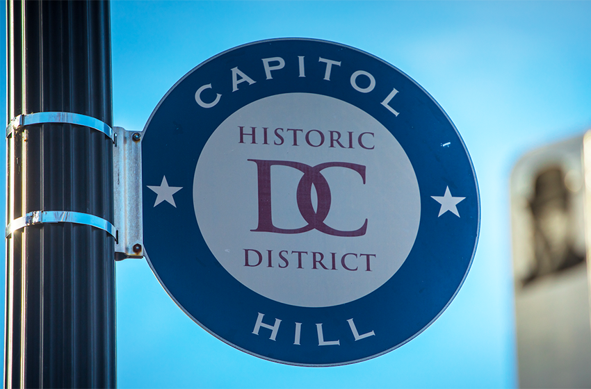 Capitol Hill is nearby