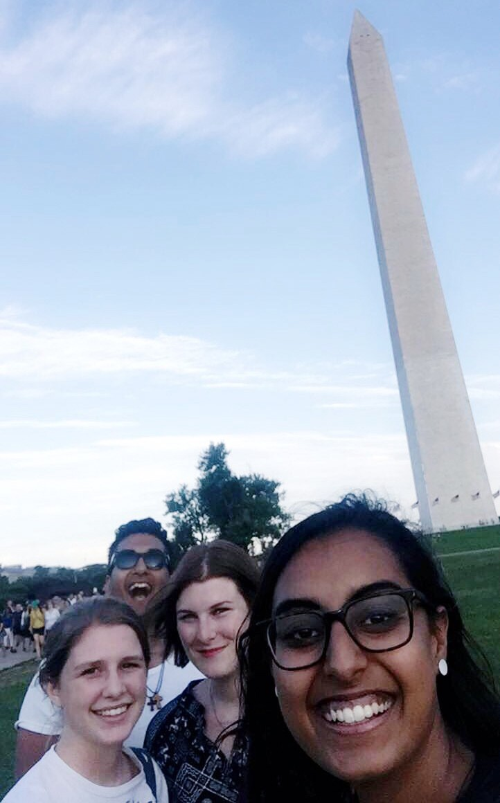 Visiting the Washington Monument