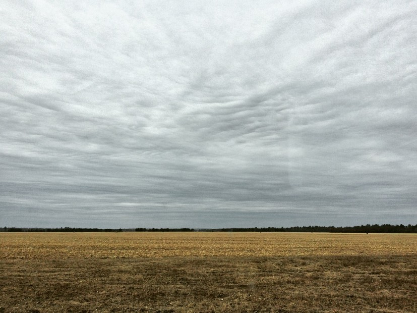 The vast fields of Wisconsin are a stark contrast to the busy streets of D.C.
