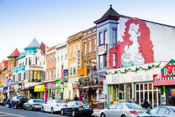 Adams Morgan is the vibrant neighborhood home to Madams Organ