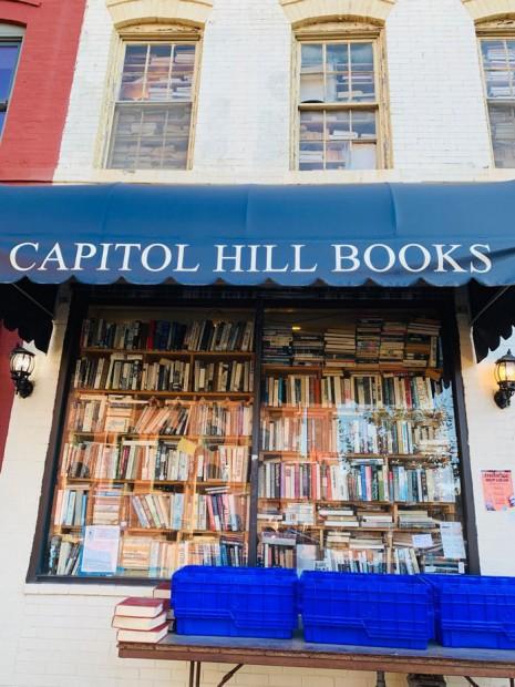 Capitol Hill Books, Eastern Market, Washington, D.C.