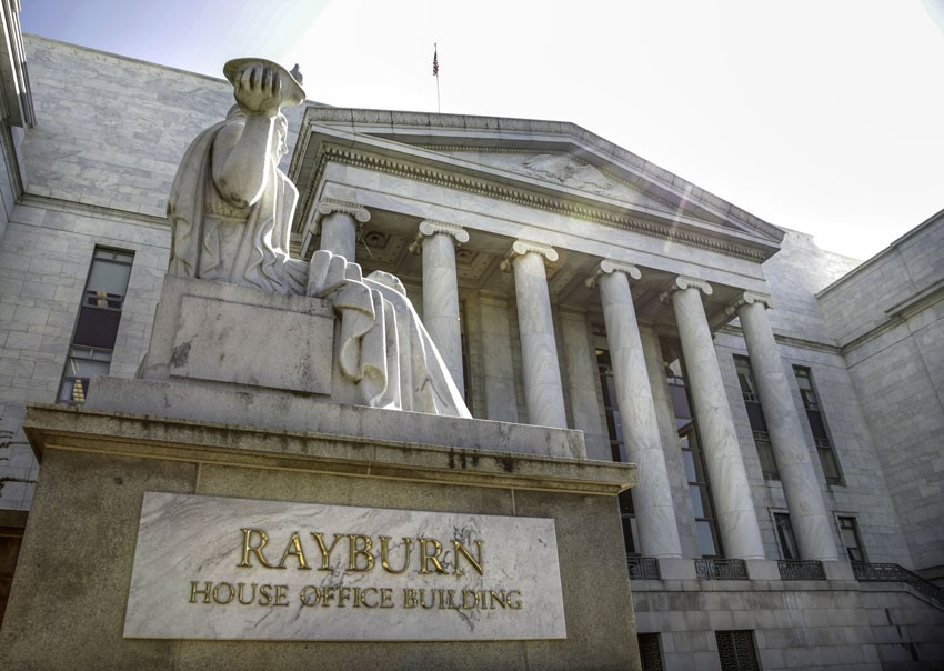 The U.S. House Committee on Small Business is located in the Rayburn House Office Building.