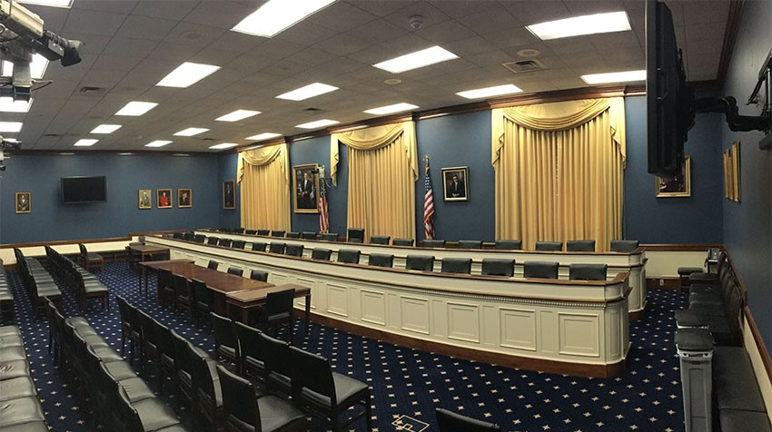 U.S. House Committee on Small Business Hearing Room
