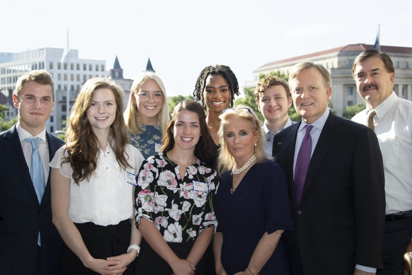Holly attended the John Dingell Fellow & Scholar Breakfast with Representative Debbie Dingell.