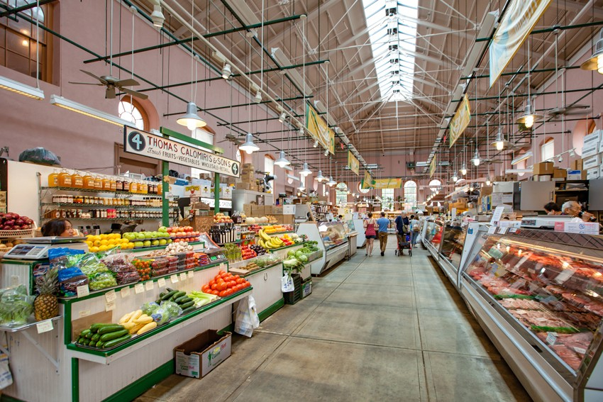 Eastern Market Washington, D.C. Interior