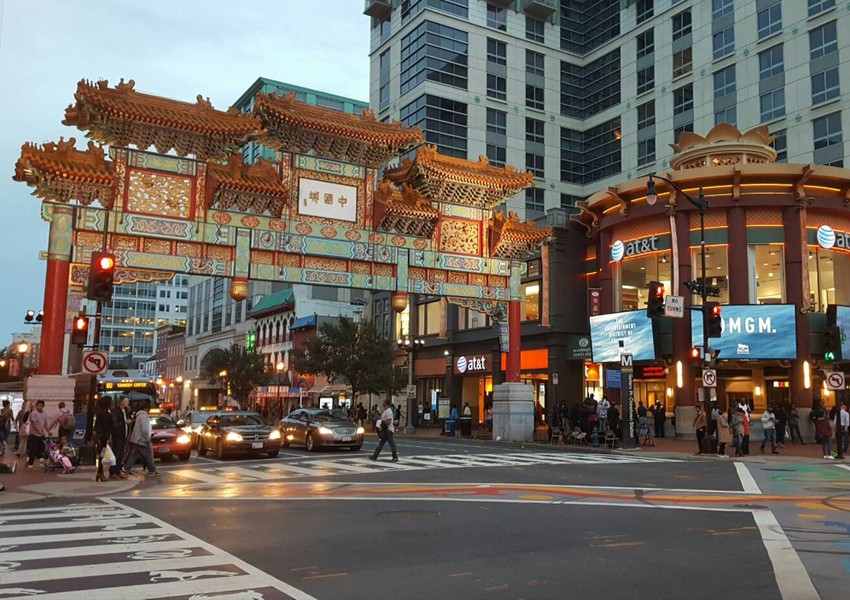 Washington, D.C.'s Chinatown Neighborhood