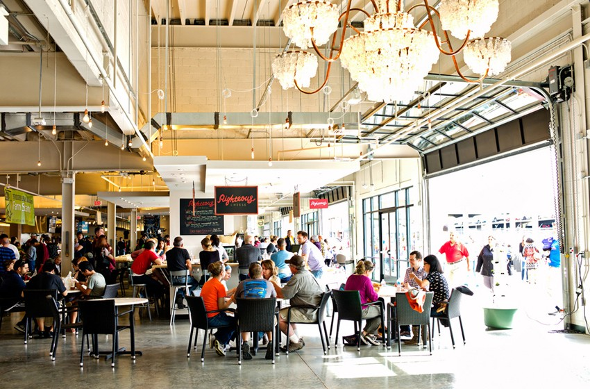 Union Market has multiple eateries and many have gluten-free and dairy-free options.