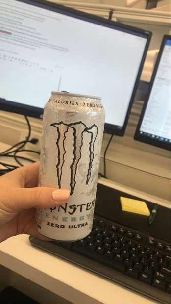 Getting through work and prepping for Wednesday night classes requires energy.