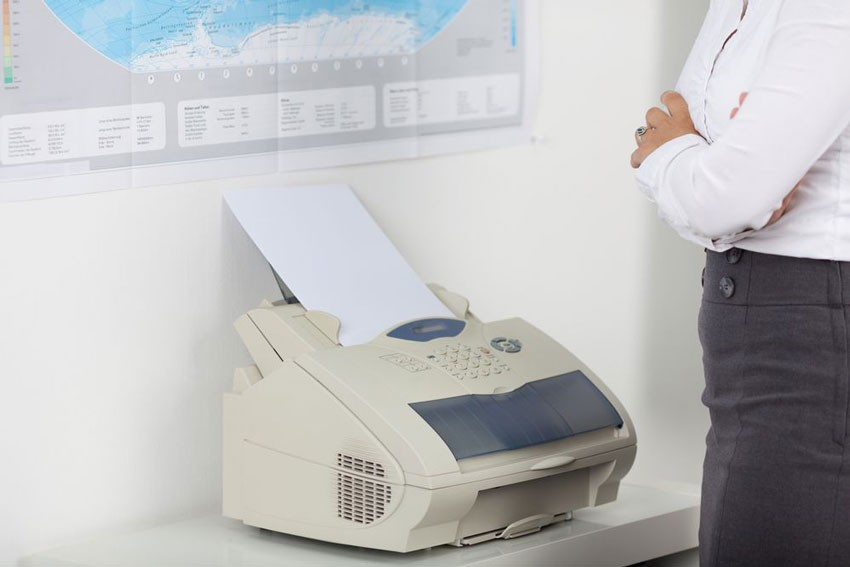 What use is a fax machine in 2019?