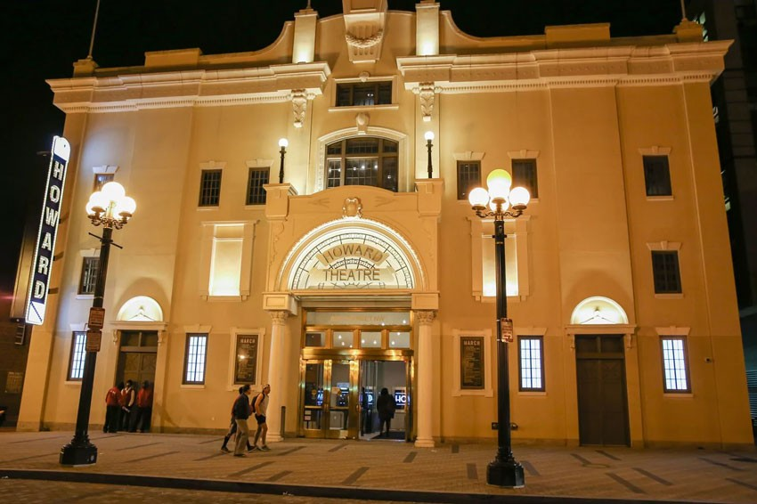 Experience the history and stay for a good time at The Howard Theatre.