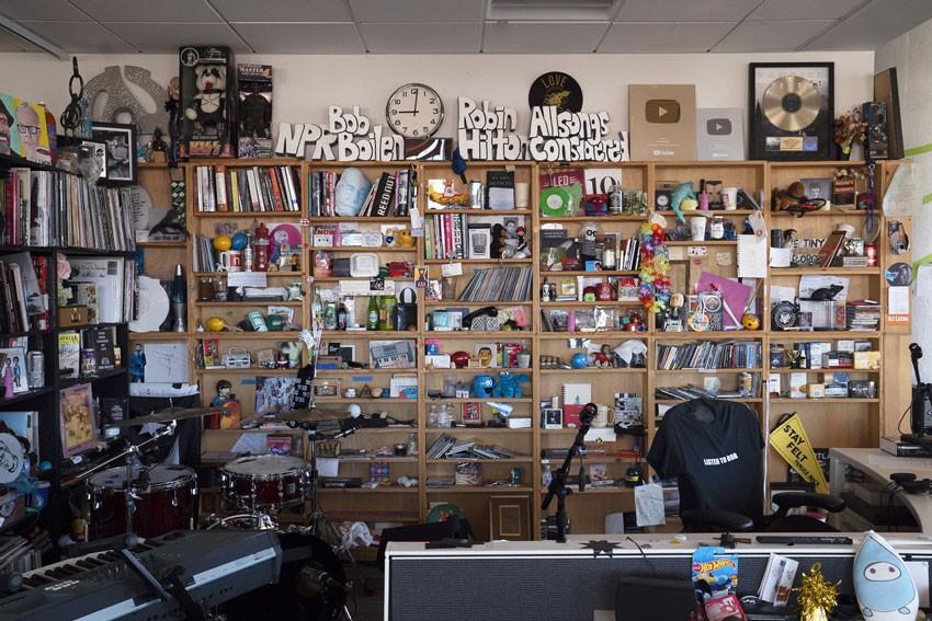 Bob Boilen's Desk