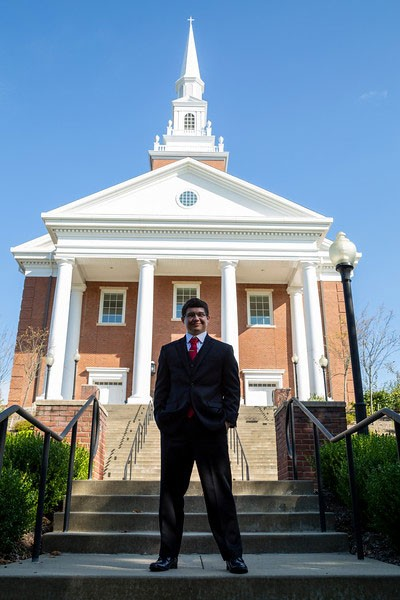 Nicholas was the first Waynesburg University student to TWC's Academic Internship Program.