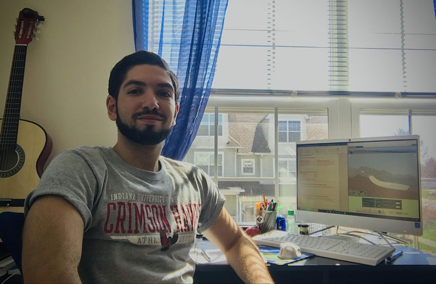 Washington Center Intern Hamzah Sammour