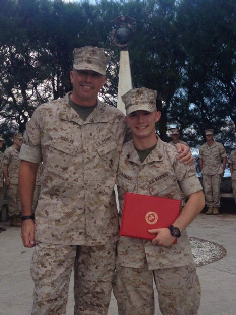 Before the VET Initiative, Alex was stationed in D.C. as a Marine.