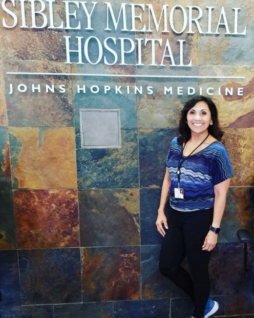 Yara interned at Grand Oaks Assisted Living at Sibley Hospital, a member of Johns Hopkins Medicine.