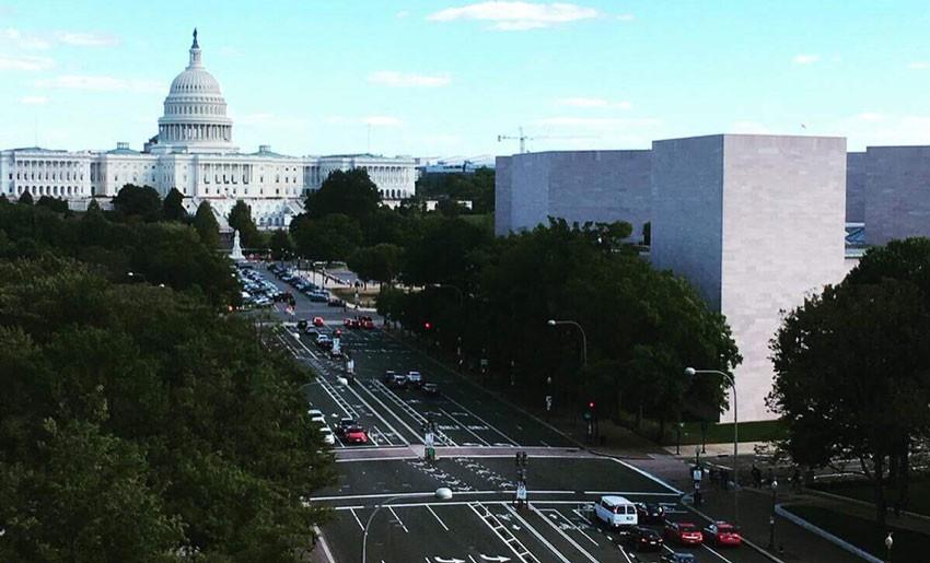 Washington, D.C. is beautiful in any season!
