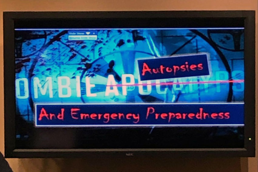 Zombie Apocalypse Autopsies and Emergency Preparedness